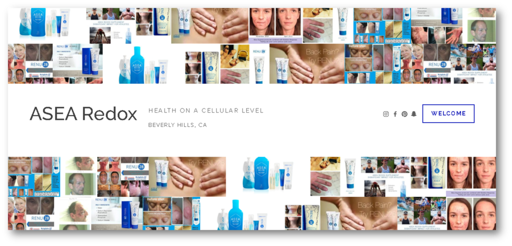 ASEA REDOX - Solutions on a cellular level