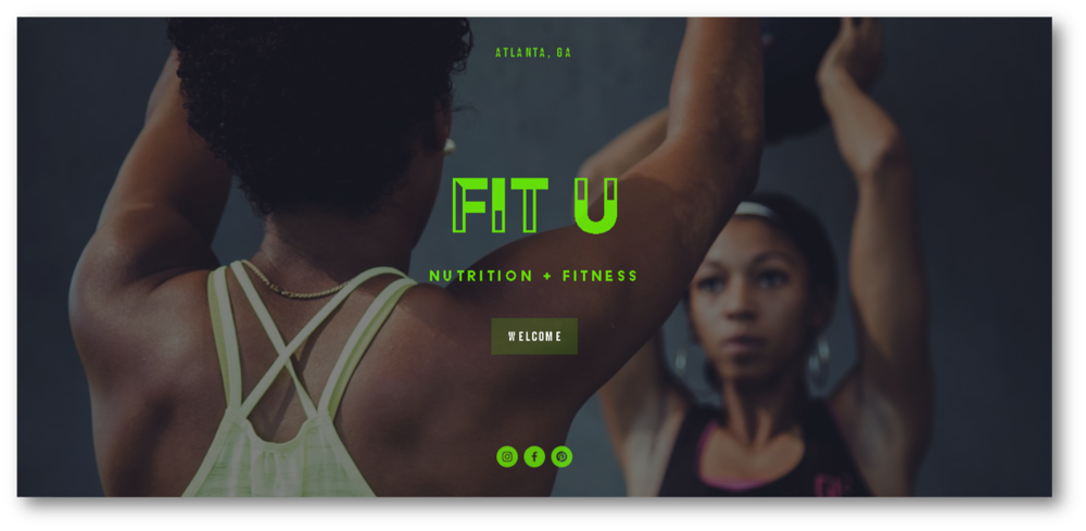 FIT U - Nutrition and fitness