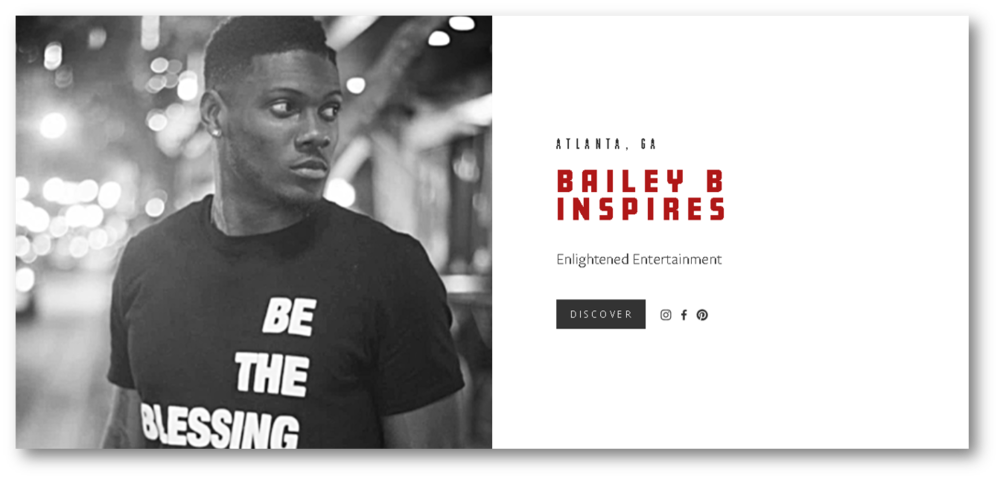 BAILEY B INSPIRES - Edutainment and spiritual coaching