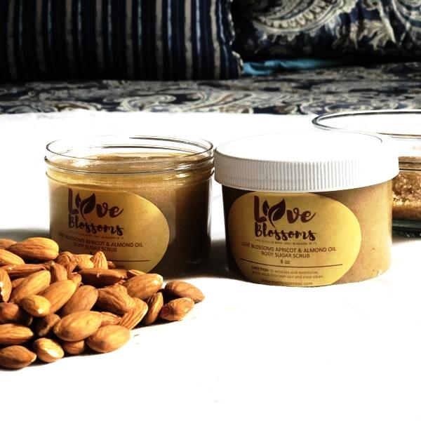 Apricot & Almond Oil Body Scrub