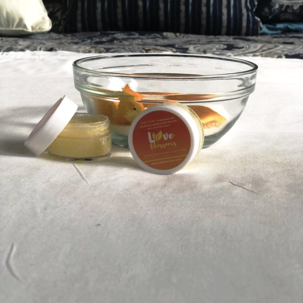 Exfoliating Tangerine Sugar Lip Scrub