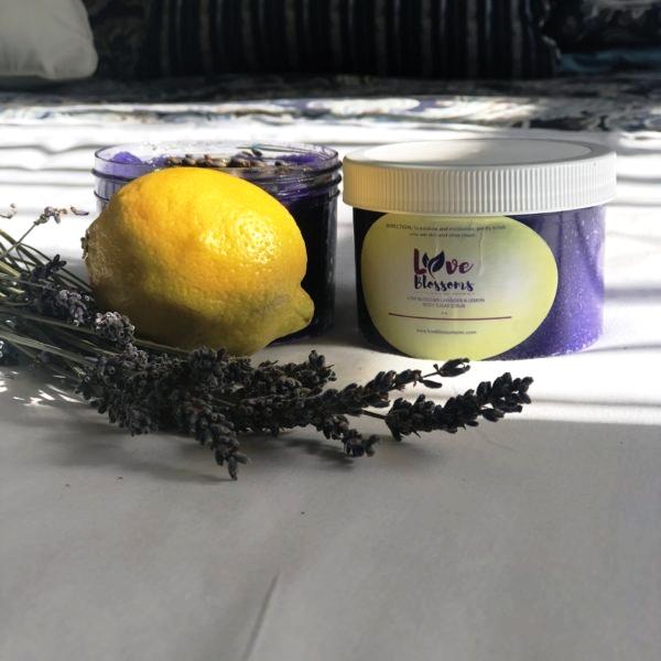 Lavender & Lemon Body Scrub