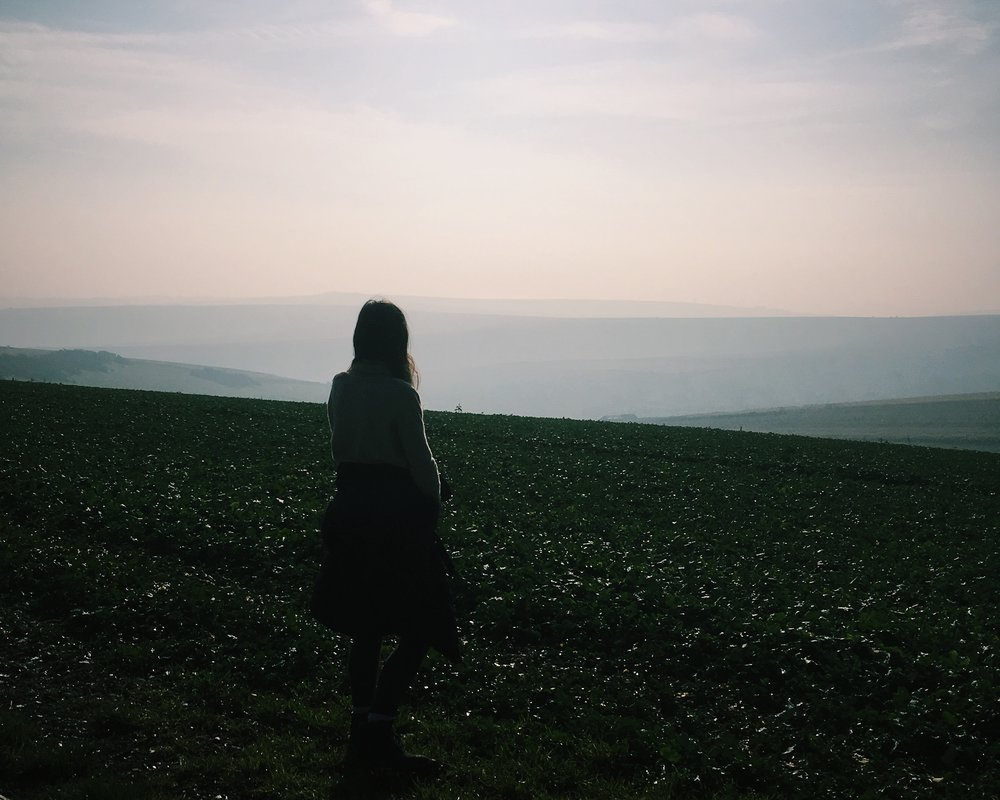 Overlooking the South Downs, East Sussex