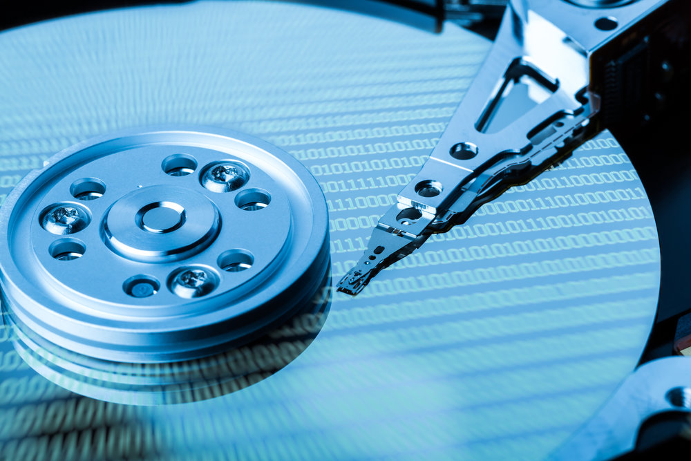 how to degauss a hard drive