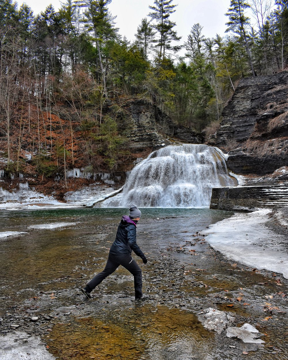 Upstate New York, Hiking, Chasing Waterfalls, Health