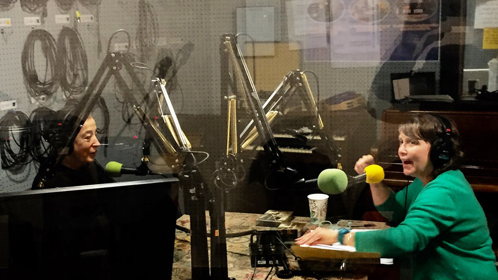 "INTO THE MYSTERIUM ON THE RADIO:   T. Heizel interviews Michele about ""Mysterium"" on her ""Living Writers"" podcast series from WCBN-FM Ann Arbor.  Click here for free Podcast"