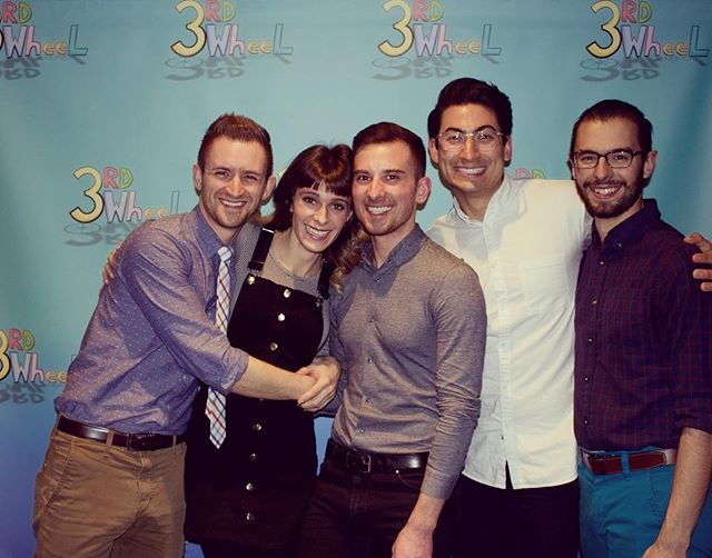 The cast and directors of #3rdWheel at our premiere screening event.  #season1 #screening #premiere #producersclub #castandcrew #smiles #gayboys #instagay #webseries #webcomedy #webisode @matthewhazen @erictronolone @efcbatsford @nikkokimzin @corsidennis