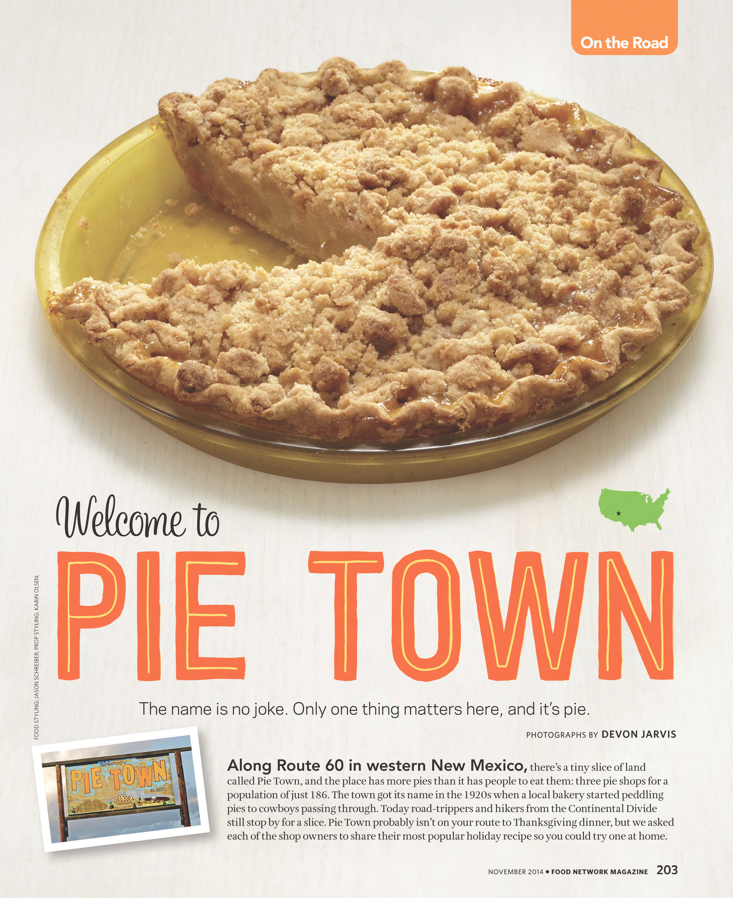Pear-Ginger Pie. Photograph by Devon Jarvis for Food Network Magazine