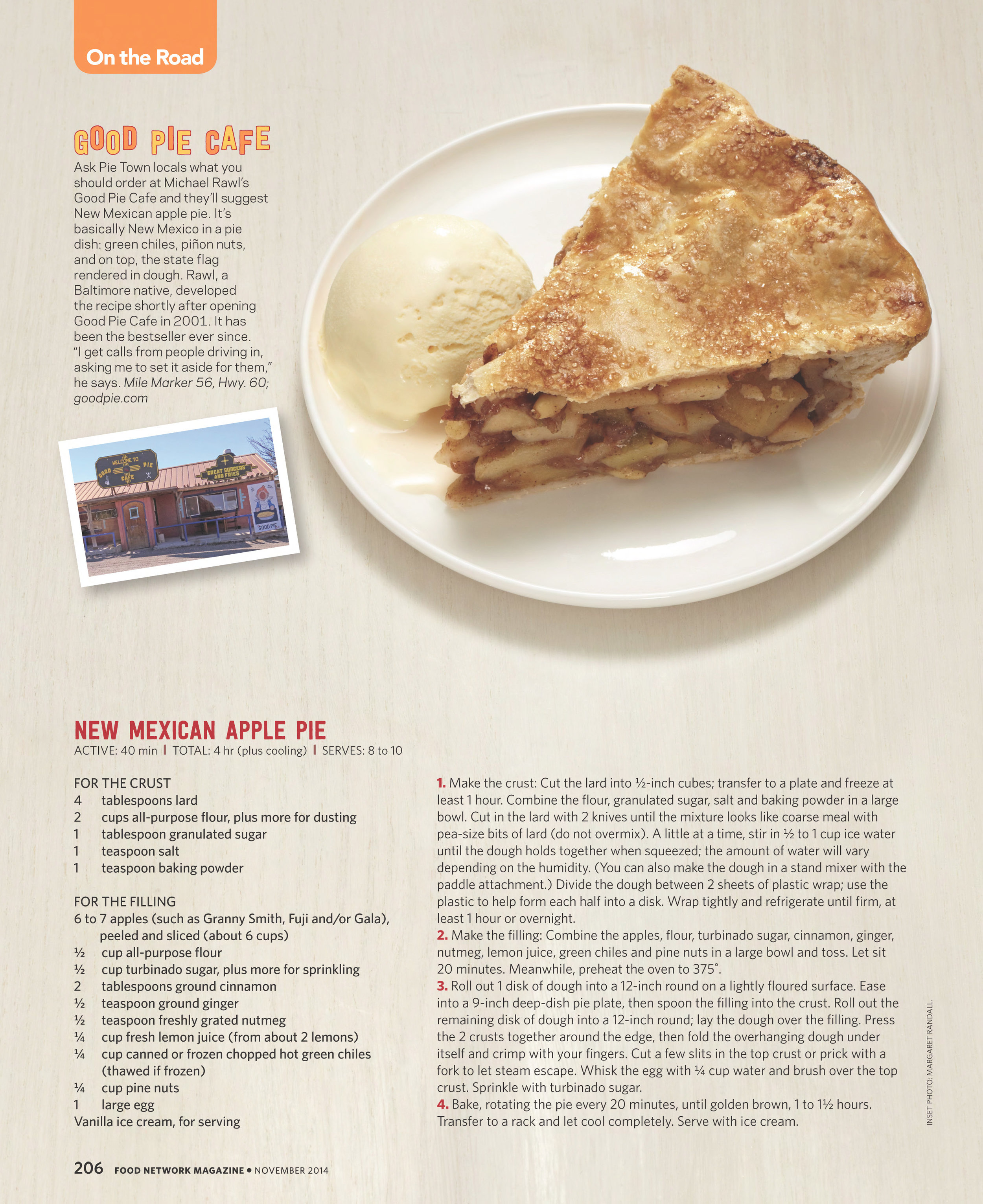 Apple Pie Photograph by Devon Jarvis for Food Network Magazine