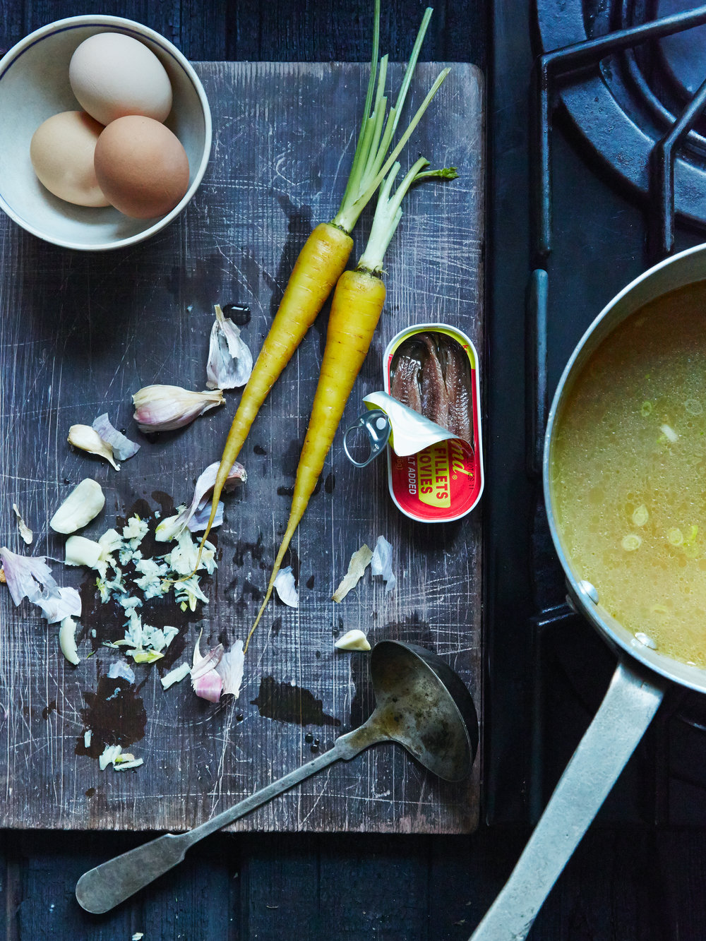 Pork Bone Broth for Ramen, Smak Magazine