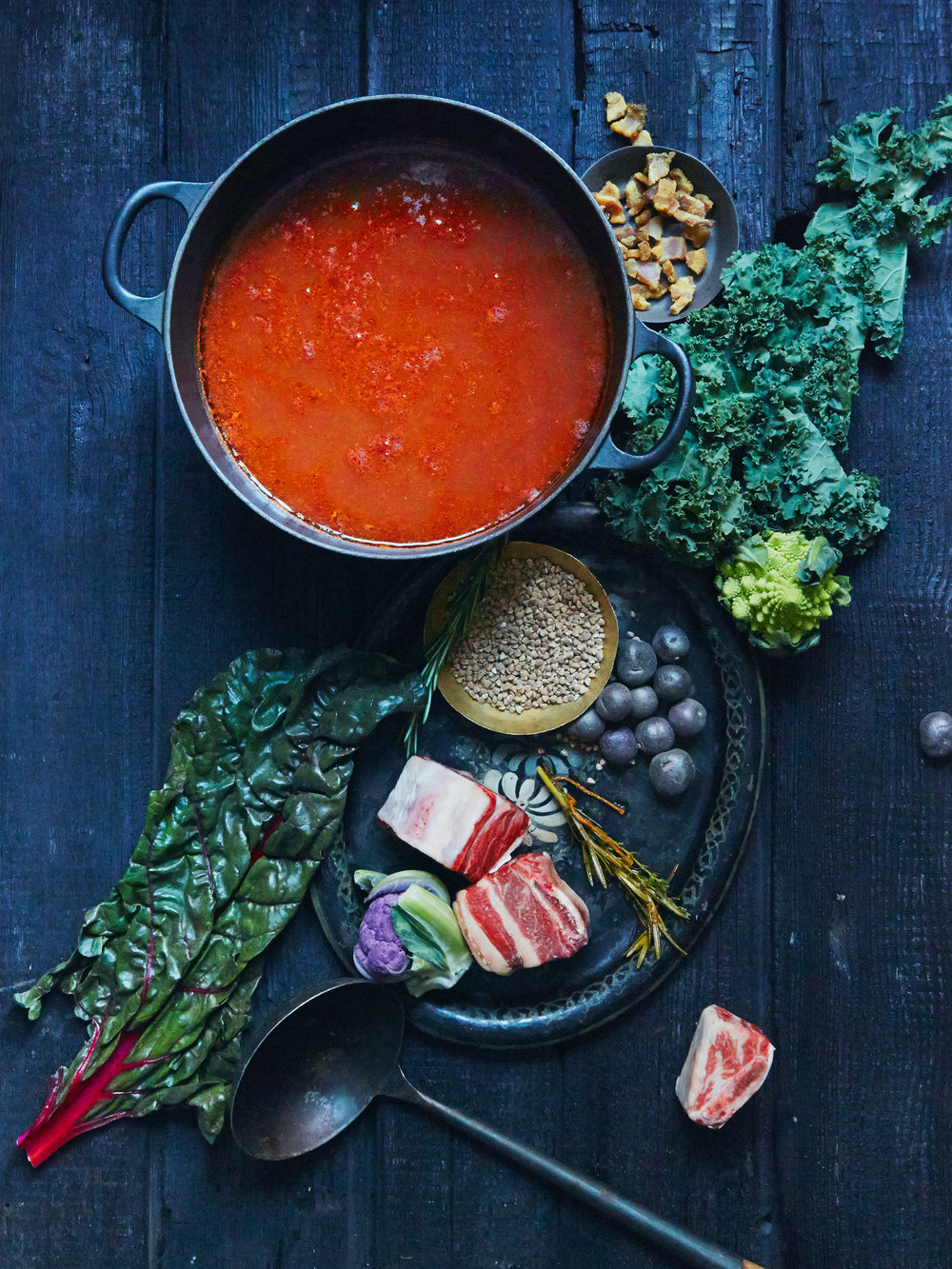 Spicy Tomato Ramen Broth, Smak Magazine