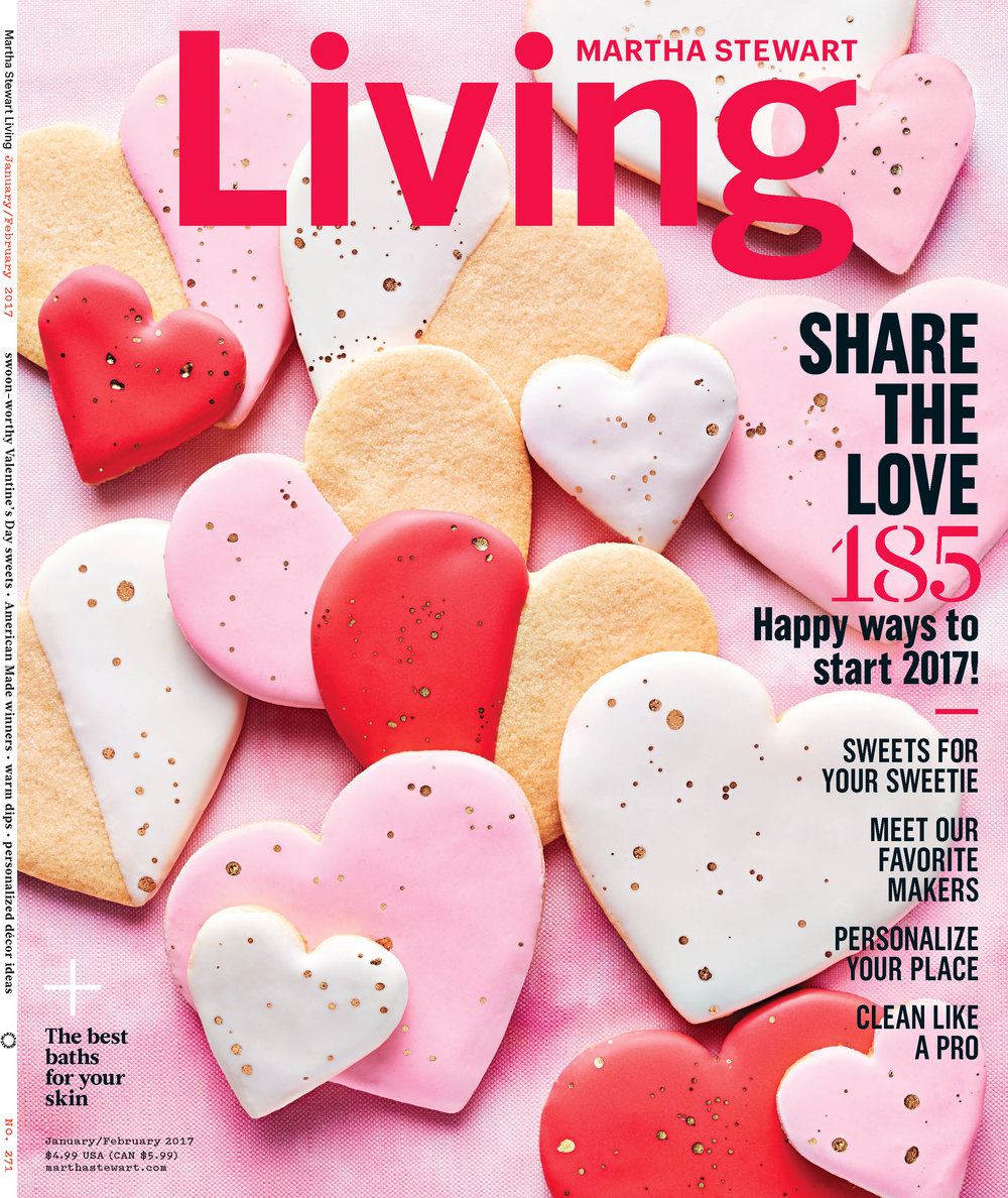 Valentines Day Cookies, Martha Stewart Living