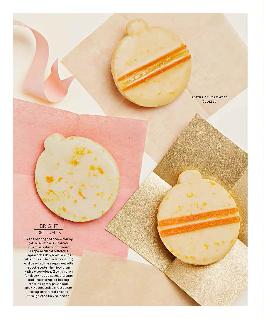 Sugar Cookie Ornaments, Martha Stewart Living
