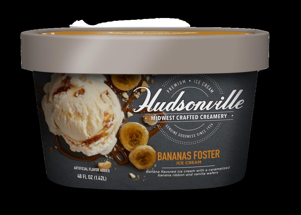 Hudsonville Ice Cream: Bananas Foster