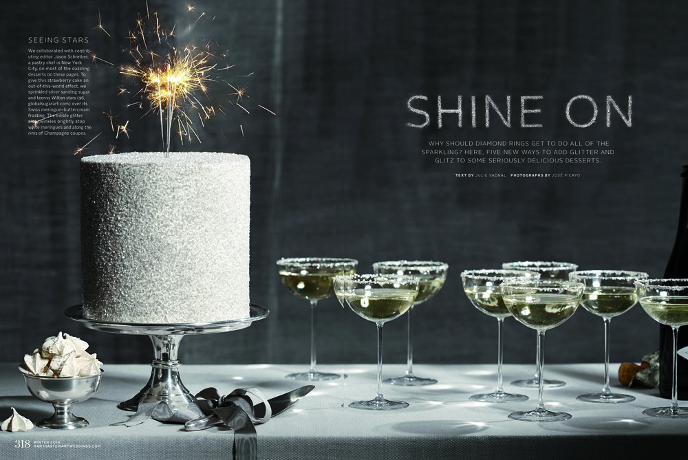 Sparkling Sugar Cake, Martha Stewart Weddings