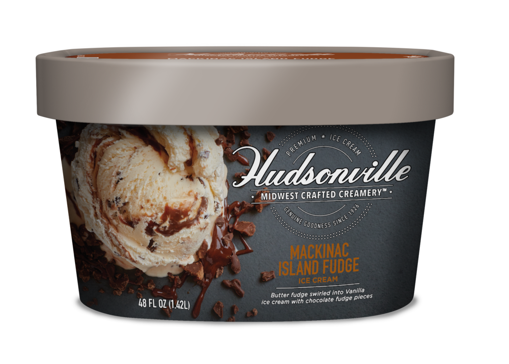 Hudsonville Ice Cream Mackinac Island Fudge
