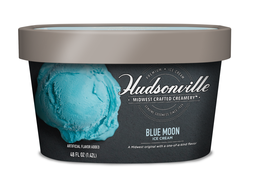 Hudsonville Ice Cream Blue Moon