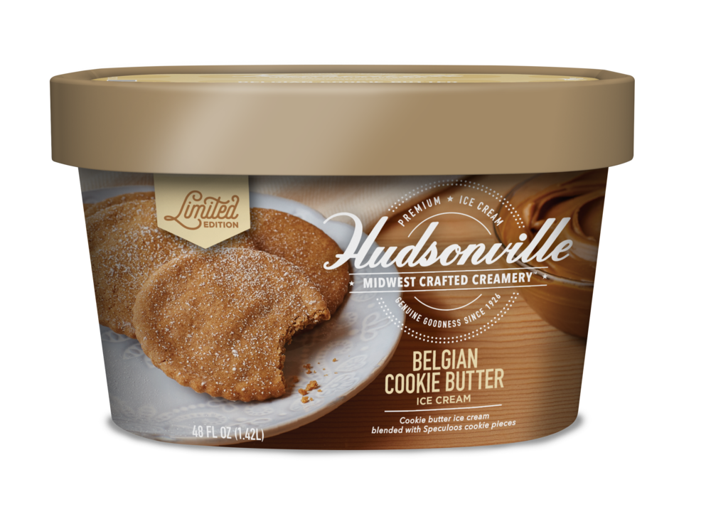 Hudsonville Ice Cream: Belgian Cookie Butter