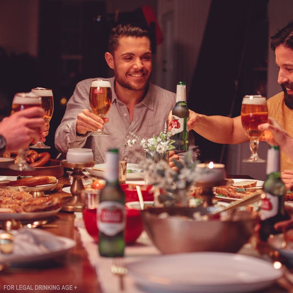 Dinner Party, Stella Artois