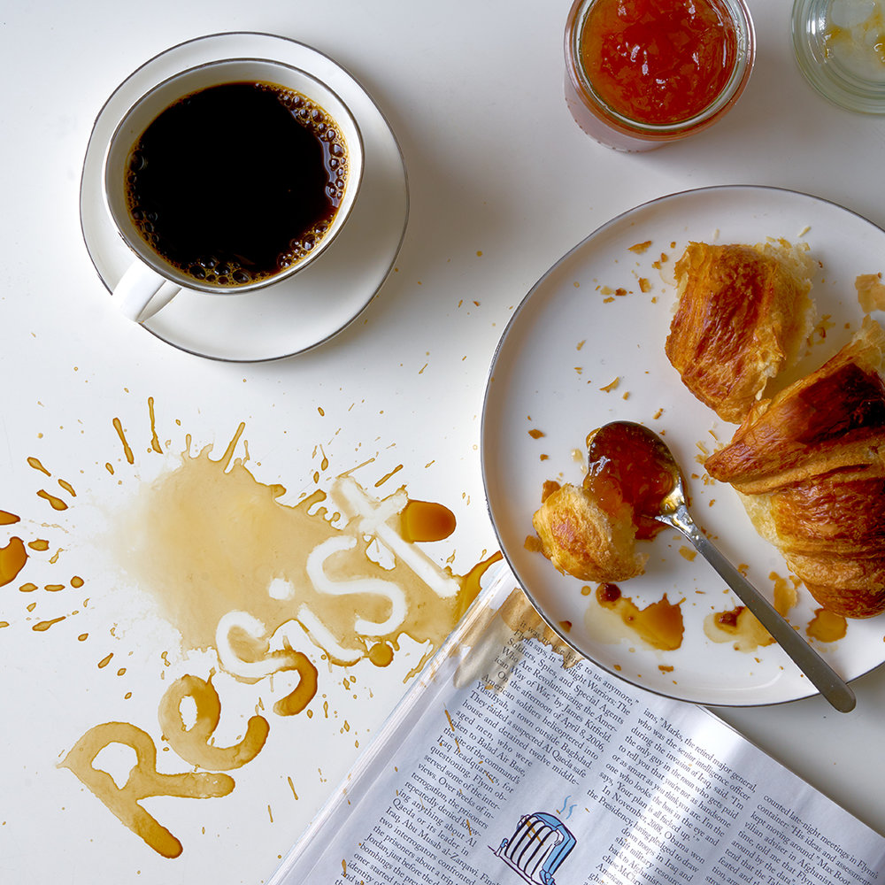 Resist Coffee Breakfast