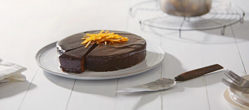 Sachertorte (American Heritage Chocolate), Photo by Melinda DiMauro