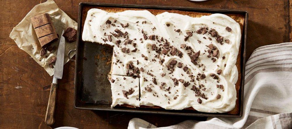 Miss Leslie's 1847 Chocolate Cake (American Heritage Chocolate), Photo by Linda Pugliese