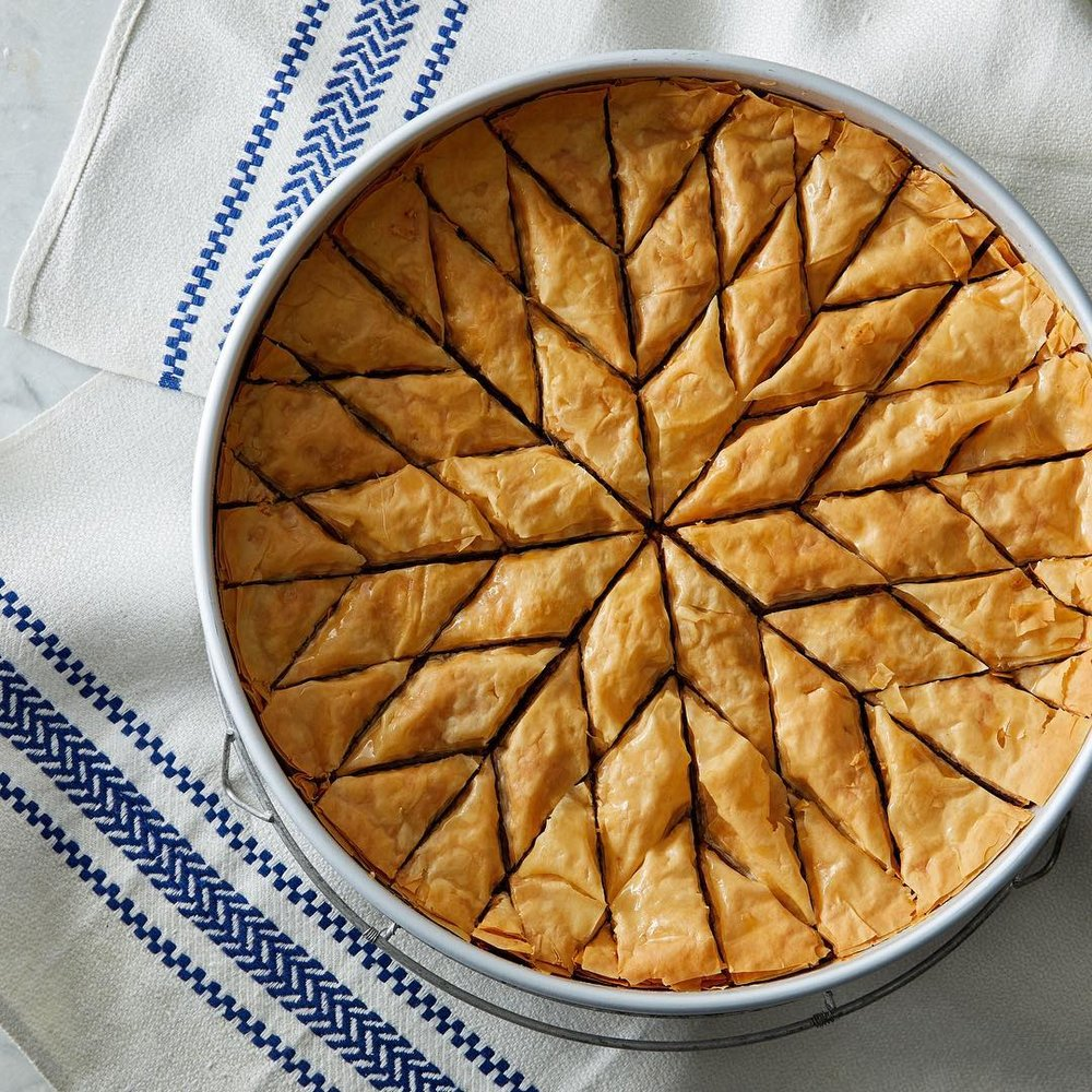 Baklava (Martha Bakes on PBS), Photo by Mike Krautter