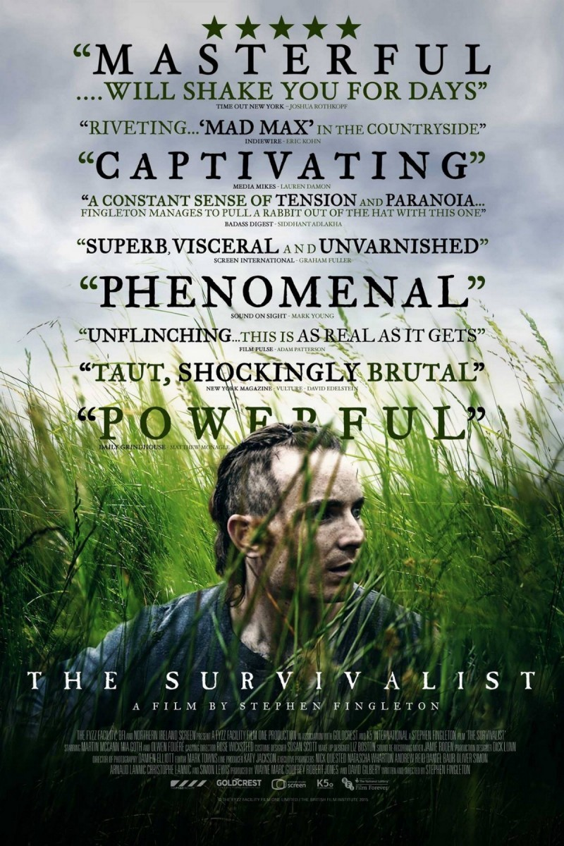 thefilmstage :     The  U.S. trailer  for the post-apocalyptic thriller   The Survivalist   makes all strangers an enemy.