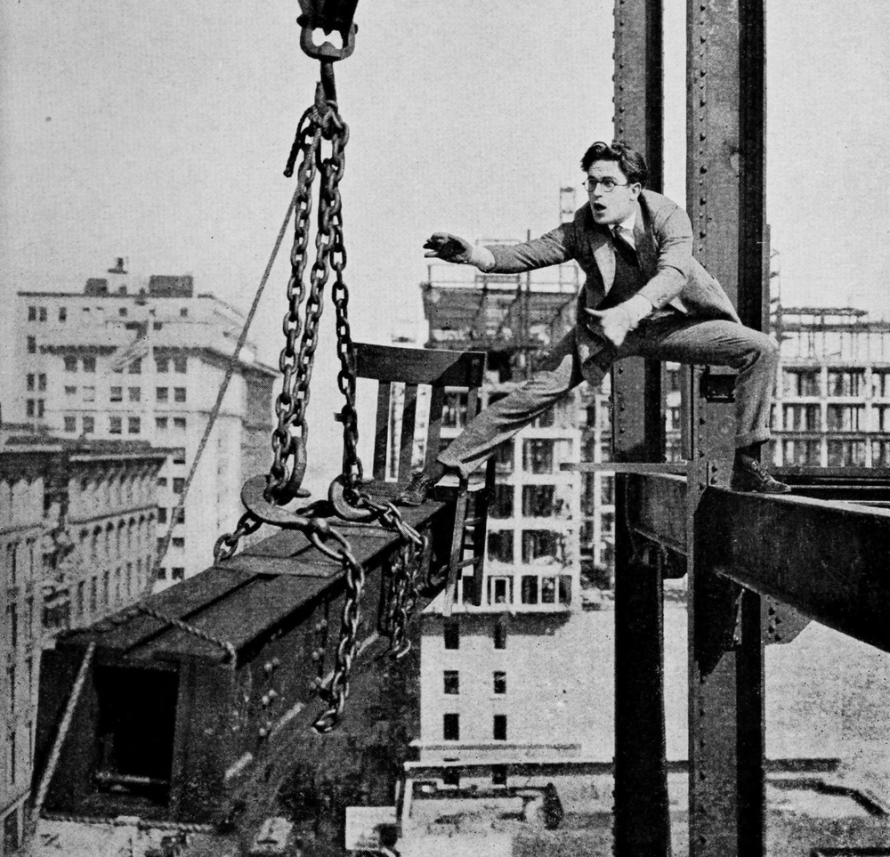 "pbsamericanmasters :     ""The more trouble you get a man into, the more comedy you get out of him."" - Harold Lloyd, who was born on this day in  1893."