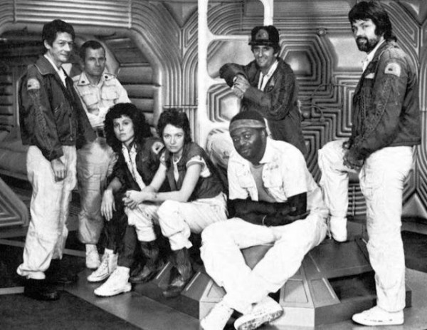 "fuckyeahbehindthescenes :     In the original script writer Dan O'Bannon had focused on writing the Alien first,  putting off developing the characters for a later draft. Thus he and Ron Shusett had written all of the roles as generic male  ones with a note in the script explicitly stating ""The crew is unisex  and all parts are interchangeable for men or women."" ( x )   Alien (1979)"
