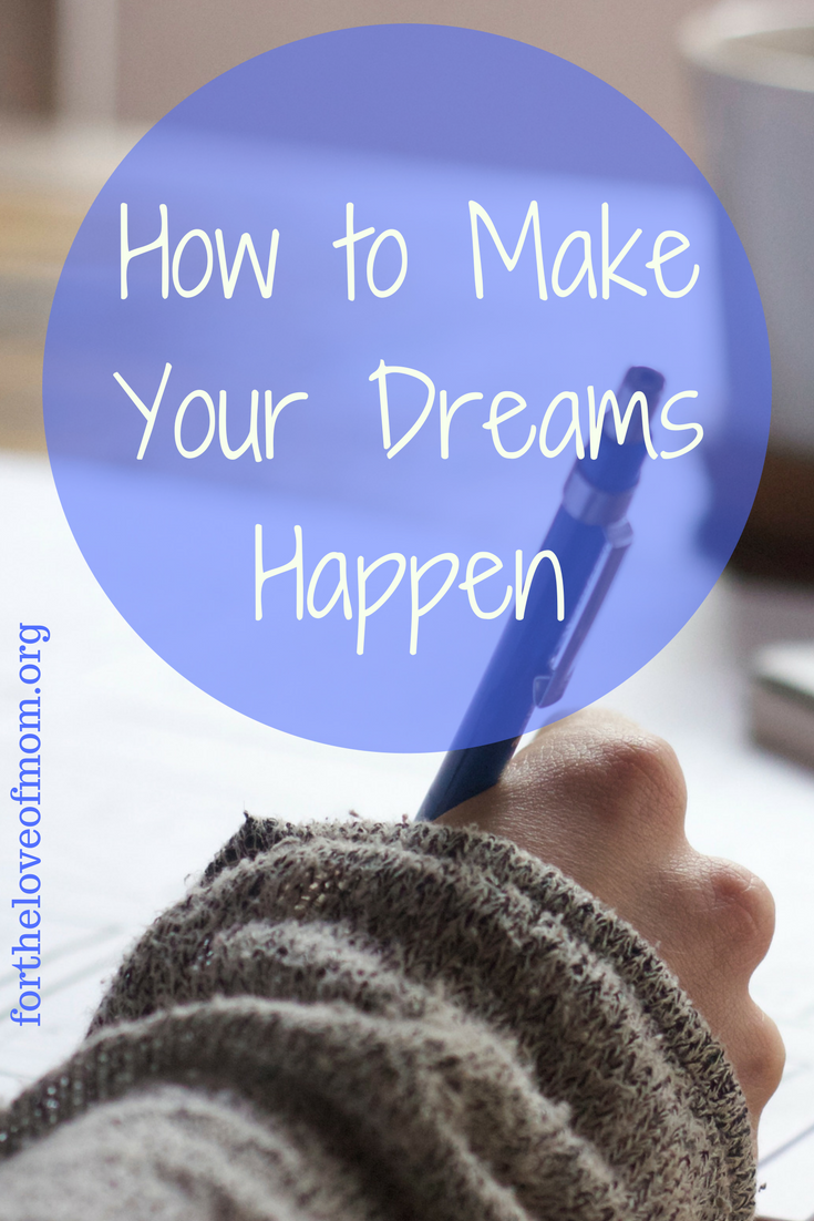 Tips for goal setting and achieving your dreams.