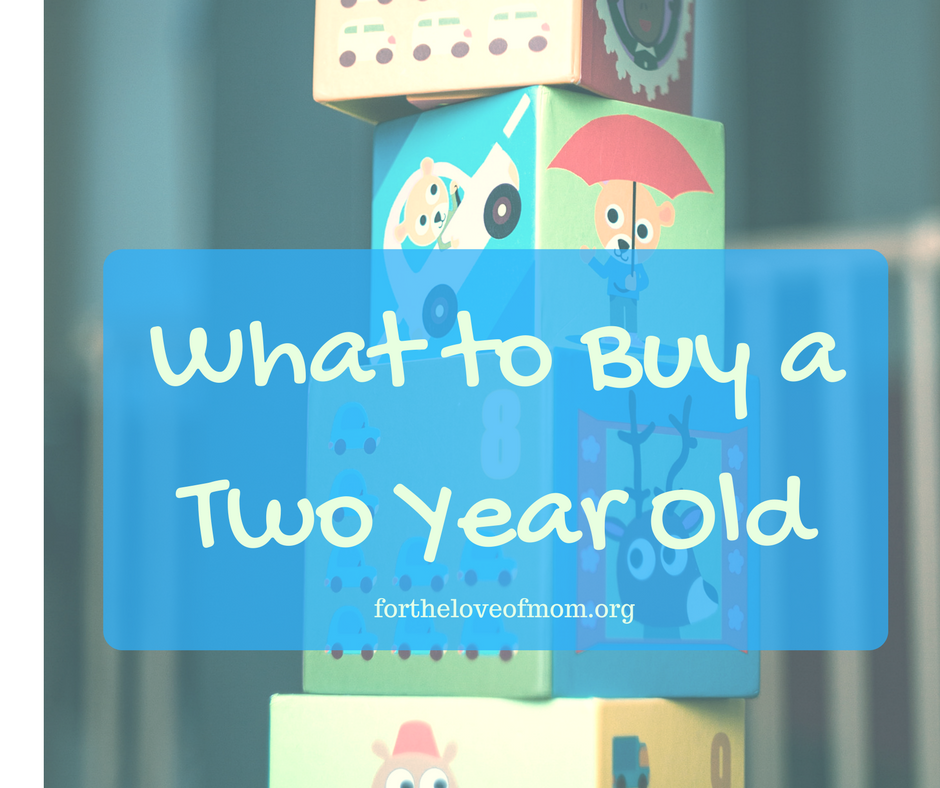 What to Buy a Two Year Old | Gift Ideas for Toddlers | www.fortheloveofmom.org
