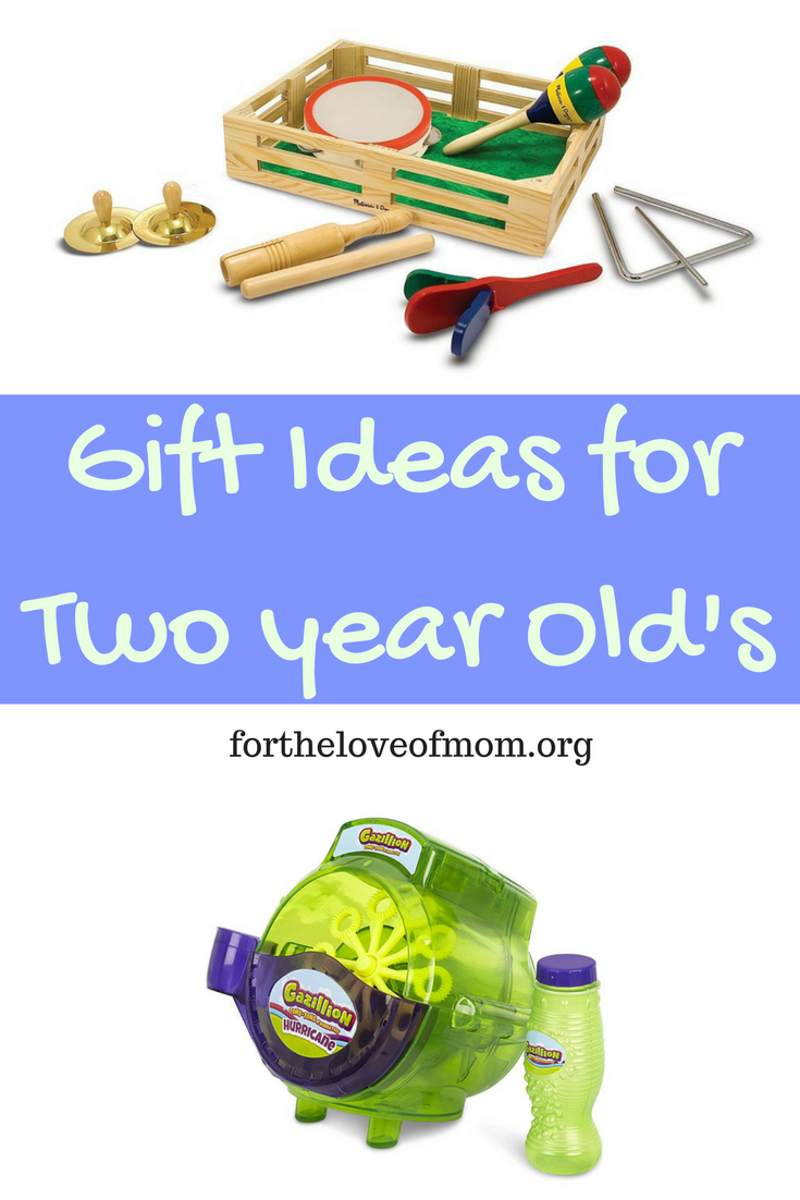 Gift Ideas for Two Year Old's | What to Buy a Two Year Old | Birthday Gifts for Toddlers | www.fortheloveofmom.org