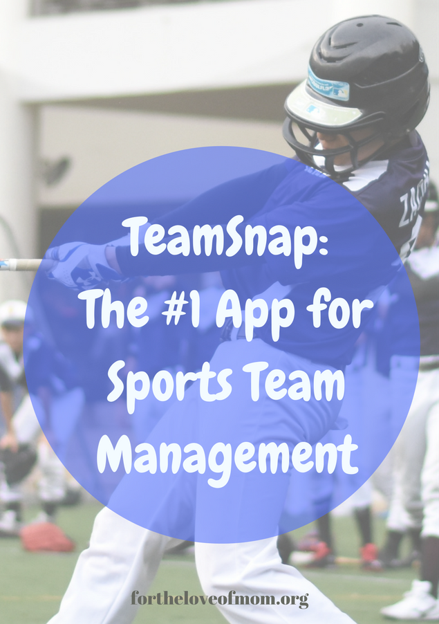 The Number One App for Managing Sports Teams | Coordinate Your Sports Team With Ease | Sports Team & Club Orgnaization | www.fortheloveofmom.org