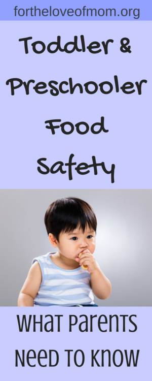 Food safety for toddlers — For the Love of Mom - Helping You