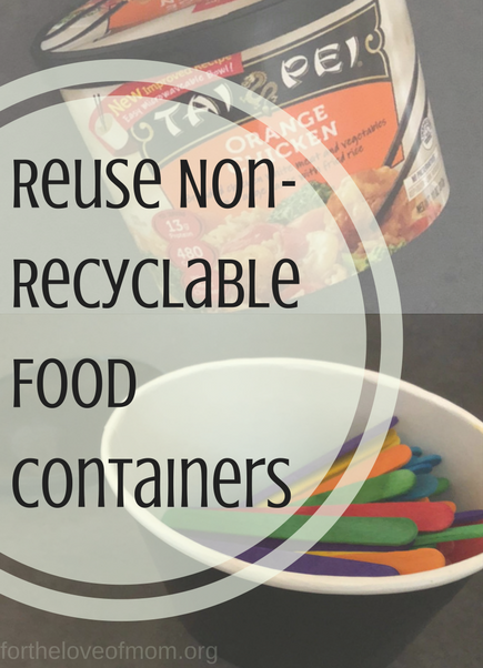 How To Recycle When You Have Non-Recyclable Items| Tai Pei Asian Inspired Frozen Food | Tips for Busy Moms | #wahm | #wahmtips | #taipei | #frozenfood | www.fortheloveofmom.org