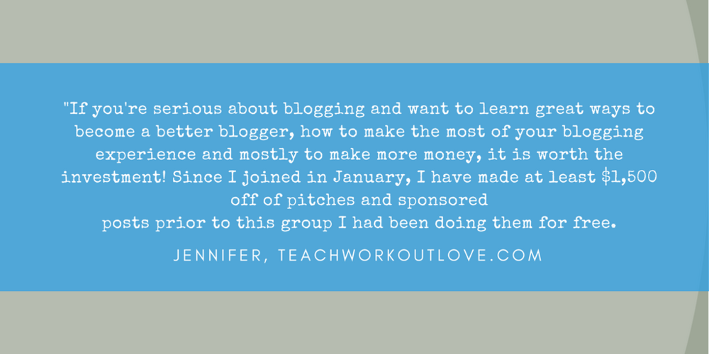 Influential Mama Network Testimonial _ Jennifer _ Teach Workout Love _ www.fortheloveofmom.org
