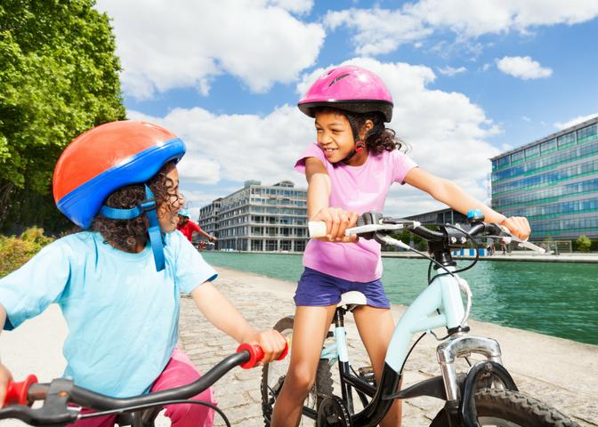 Kids Riding Bikes _ Raising Successful Kids _ www.fortheloveofmom.org