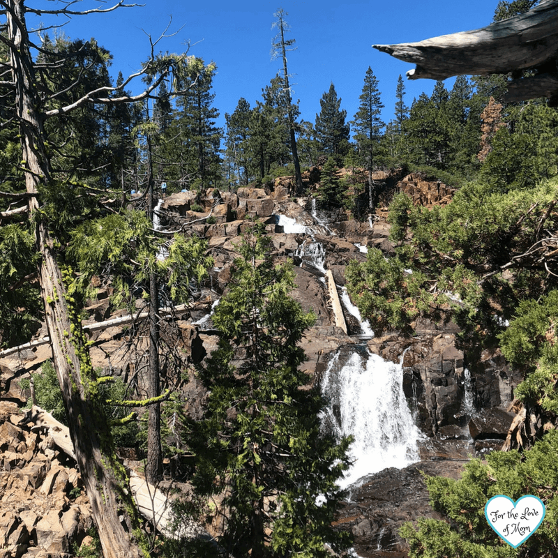 Glen Alpine Falls - South Lake Tahoe - fortheloveofmom.org