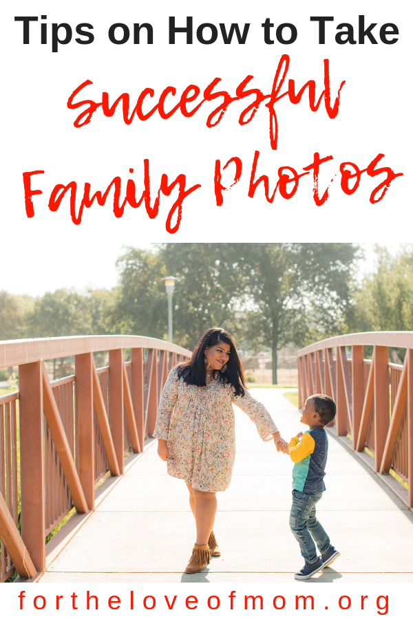 Taking family photos can be a stressful experience. Make sure you read these tips from moms like you on how to take successful family photos. #familyphotos #family #parenting #momlife #momhacks #momtips - fortheloveofmom.org