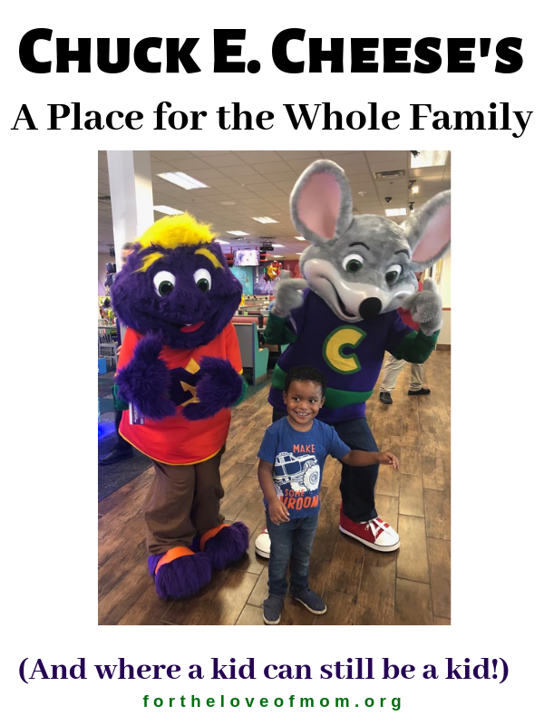 The remodeled Chuck E. Cheese's restaurants have been designed with the whole family in mind but, don't worry, it's still a place where a kid can still be a kid. Check out details on the remodel. - For the Love of Mom Blog - fortheloveofmom.org