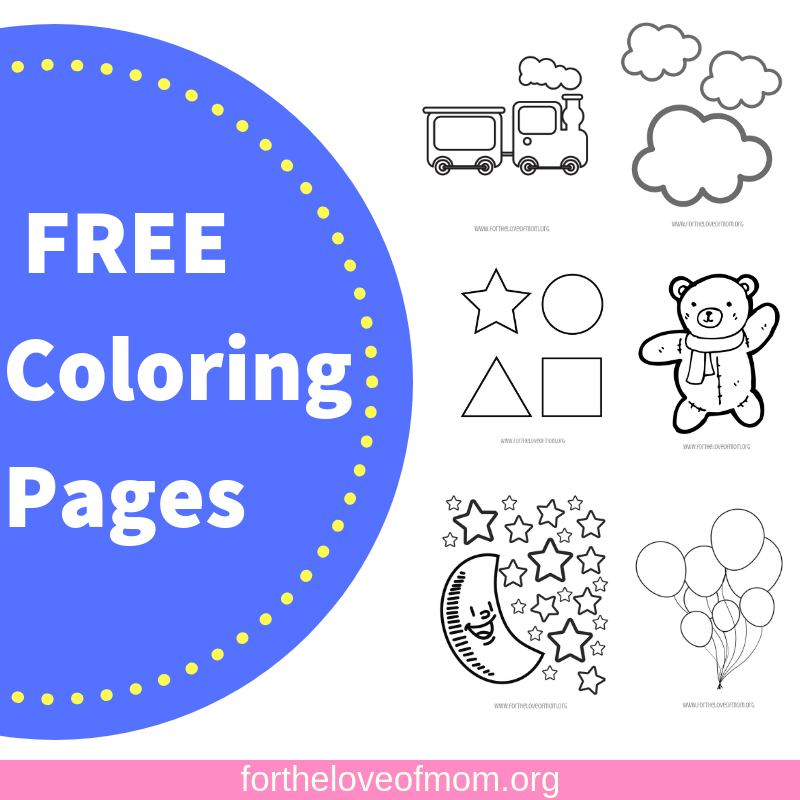 Free Coloring Pages_ www.fortheloveofmom.org