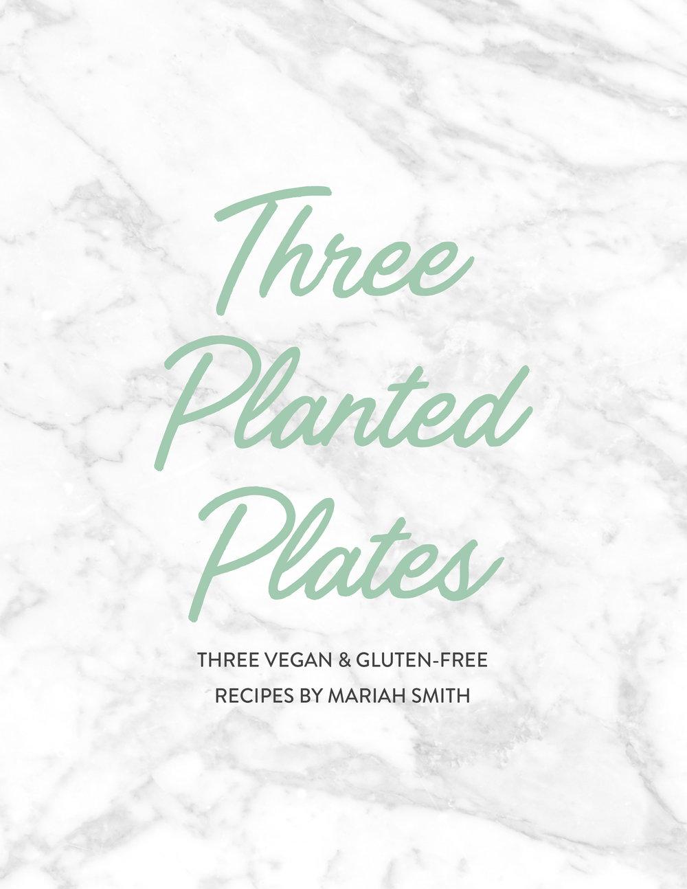 Three Planted Plates Free Vegan eBook