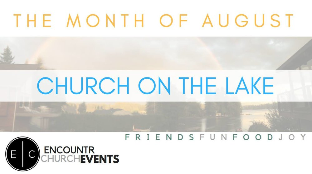 We are so excited about building community together for the month of August. So we will not be at our Chapelwood campus for the month of August. We will be together at our Lake Sawyer campus (4:30 PM)LOL. Feel free to send a private message. We will give you all the information. We will provide the hotdogs and hamburgers. You bring your favorite side dish to share.