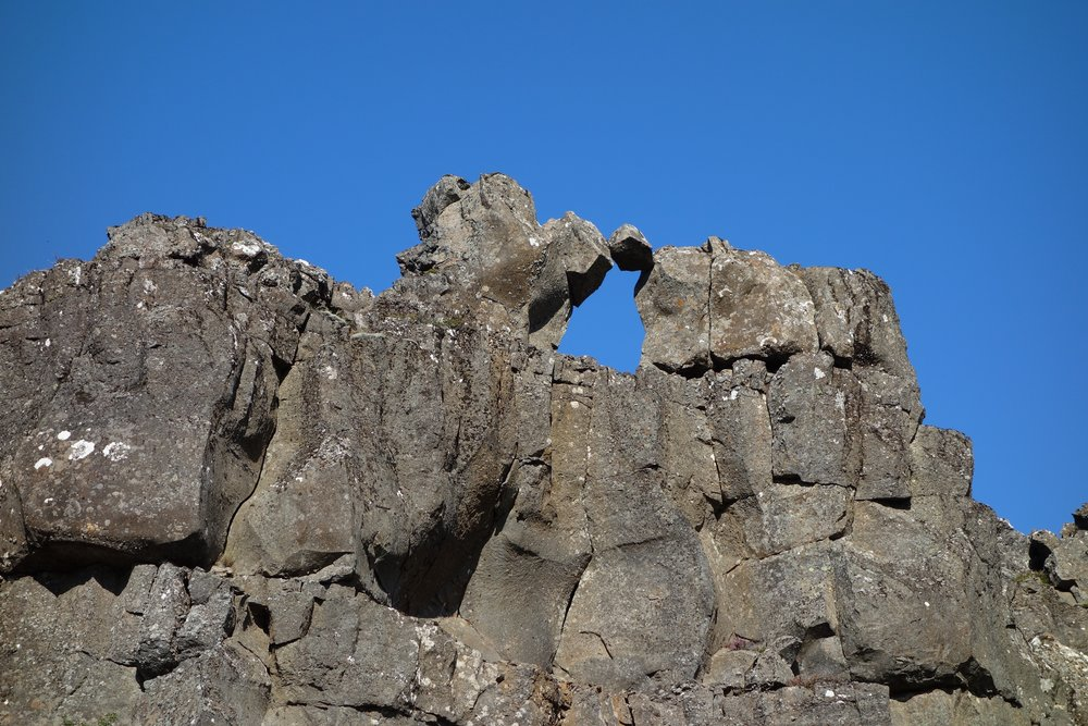 Thingvellir outcropping