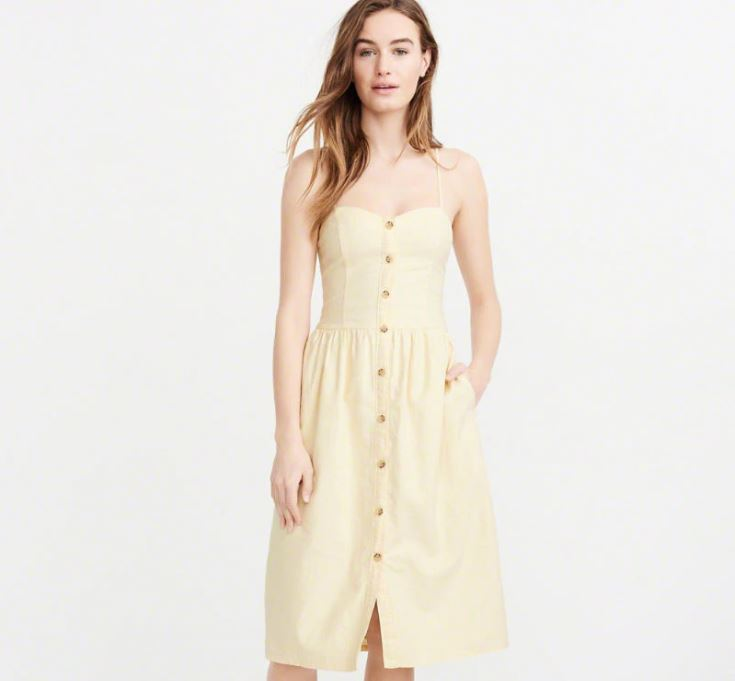 Button Midi Dress.JPG