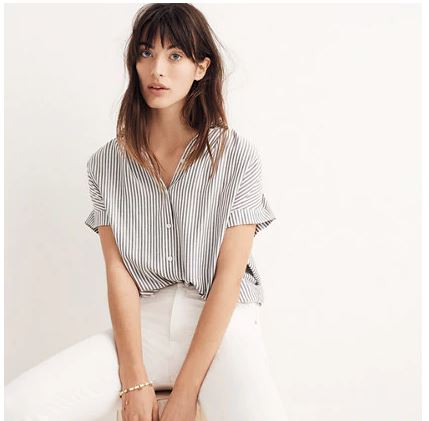 Madewell Stripe Top.JPG