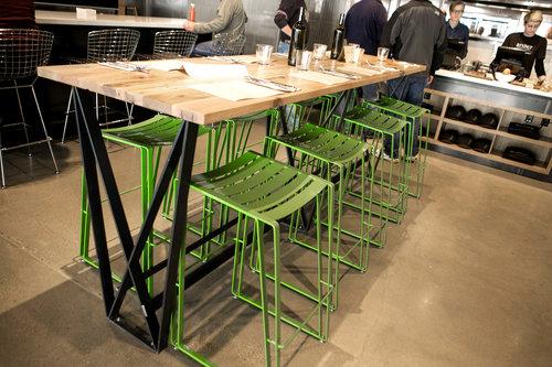 CommercialRestaurant Art Builders Guild - Restaurant community table