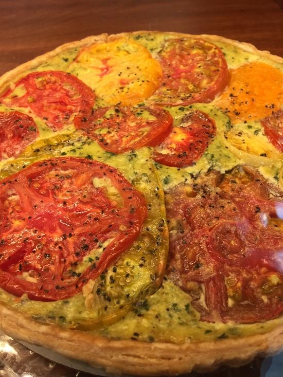 Savory Tomato Tart
