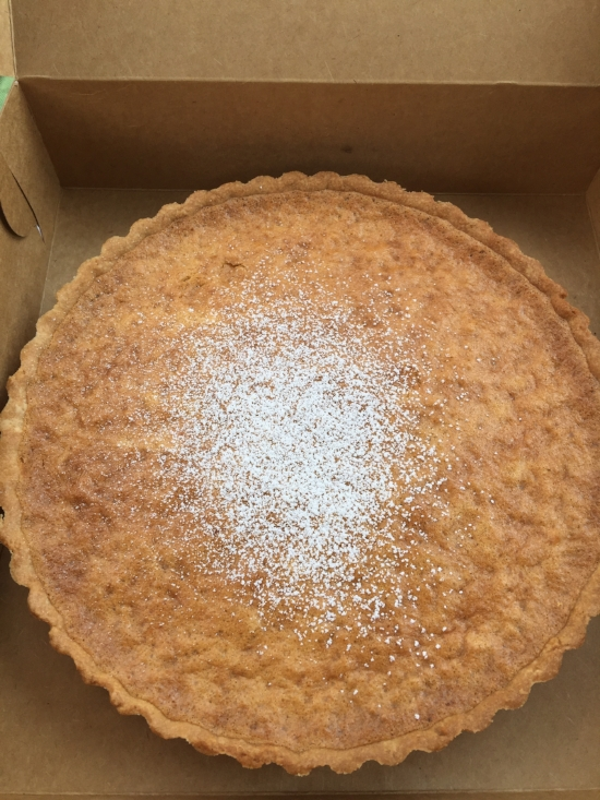 Surprise! A Perfect Lemon-Coconut Maroon Tart